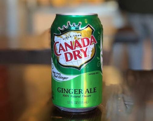 canada dry ginger ale can