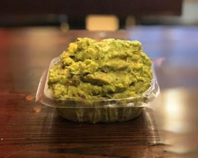 guacamole mexican food